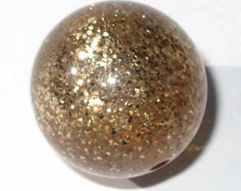 4 polaris paipolas gold glitter 14 pearls 4 mm bead