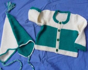 vest, hand-made Peruvian 1 year