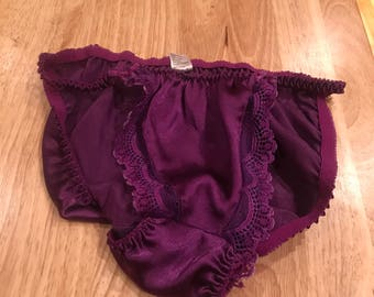 Size 6 purple panties