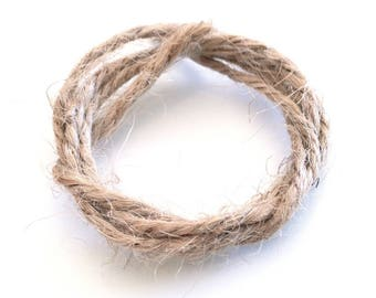 X 2M 2MM NATURAL HEMP CORD