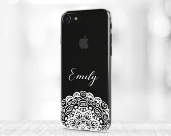 Mandala iPhone 8 Plus Case Personalized iPhone 7 Plus Case clear iPhone X Case iPhone 8 Case rubber iPhone 7 Case iPhone 6s Plus Case S8+