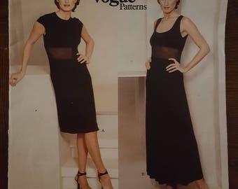 Vintage Vogue's Pattern 1604 ~ Donna Karan Uncut Sewing Pattern Size 14 - 16 - 18