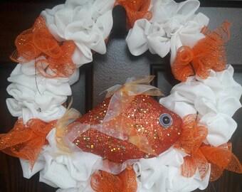 Fish/ Beach Wreath