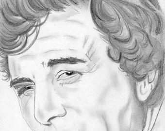 Portrait of Colombo / Peter Falk.