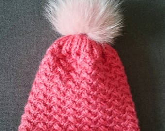 A hat with Pompom