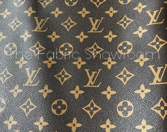 louis vuitton vinyl fabric by the yard best yard and garden design 2017. Black Bedroom Furniture Sets. Home Design Ideas