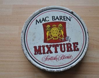 Mac Baren's Mixture  tobacco tin