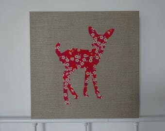 frame Fawn, linen and liberty