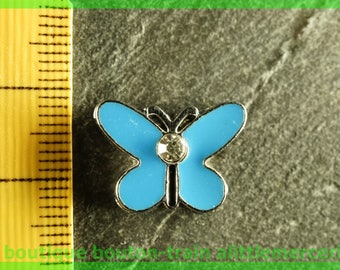 width N7 Butterfly bead for bracelet 8 mm