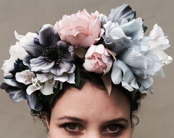 Peony Floral Headband