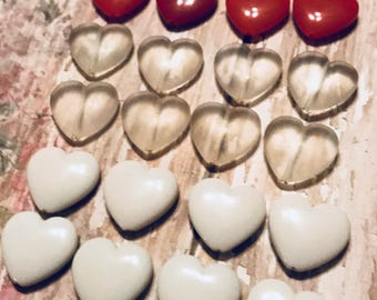 Vintage Heart Shaped Beads| Valentine's Day Crafts | Kid's Craft Beads