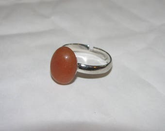Clean Sunstone ring