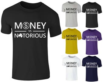 Men's Boxing Big Fight Money Mayweather VS Connor Sports T Shirt