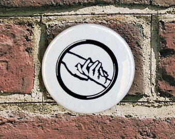 Abnegation Faction Inspired Pin/Button, Magnet, or Keychain