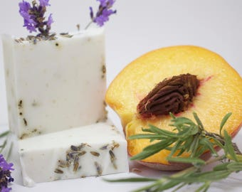 Lavender Oatmeal Shea Peaches and Cream Soap *Limited Quantities