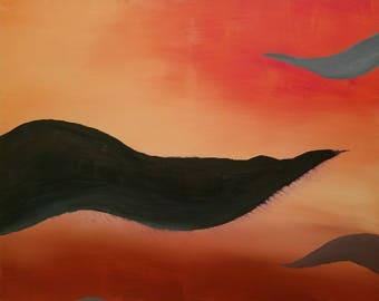 Morph: Acrylic, Abstract