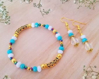 Handmade Crystals Jewelry Set 03