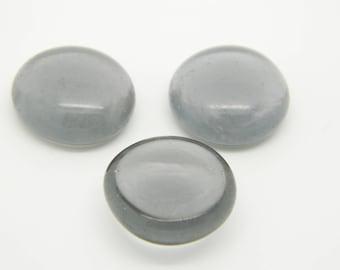Pebble grey glass 10 x 19mm (l1189) transparent