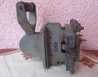 Vintage switch, Old Bulgarian air switch, Collectibles, Electric Supplies, Electrical engineering, Garage decor, Working condition