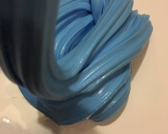 Blueberry Cream! Blue part of rainbow slime theme! Soft and stretchy!