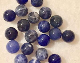 Beads fine sodalite