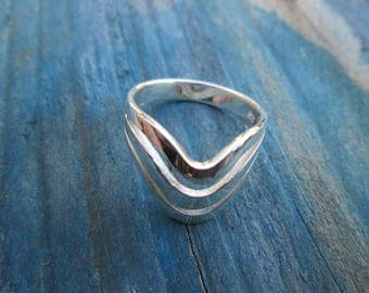 Silver ring A-013 sterling silver Ring Bohemian Christmas