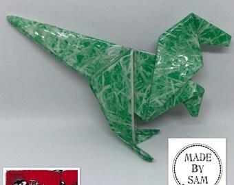 Origami Dinosaur Brooch