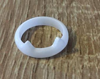 Ring in epoxy resin