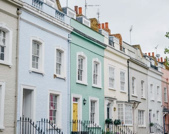 Colourful Notting Hill Digital Print Download