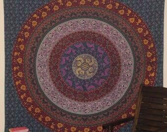 Mandala Trance Wall Tapestry