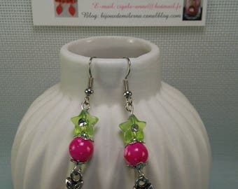 """#55 # pair of """"bird"""" charm and polymer"""
