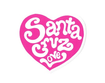 SC pink heart sticker
