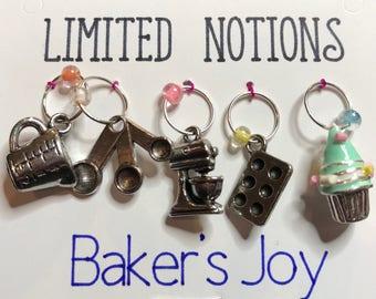 Baker's Joy Stitch Marker Set