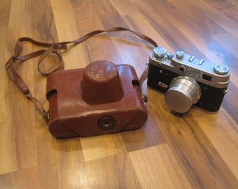 Vintage USSR ranging camera.