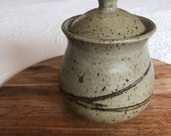Vintage Pottery Canister Sugar/Tea/Coffee