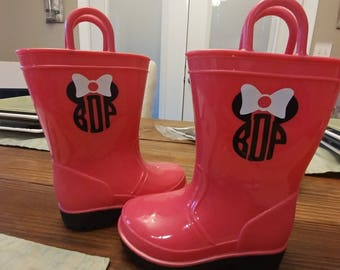 Custom Rain Boots