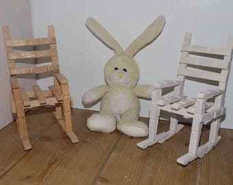 Wooden Fairy Chairs