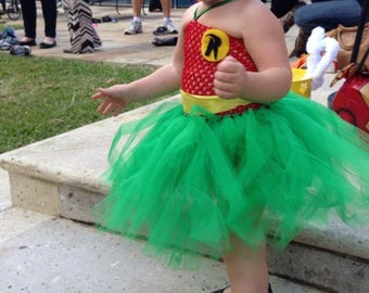 Sidekick Robin Girls Costume