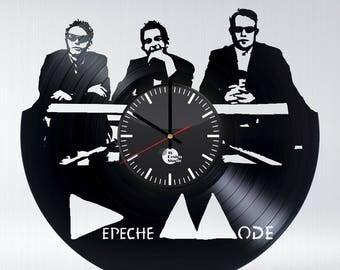 Depeche Mode Vinyl Record Wall Clock