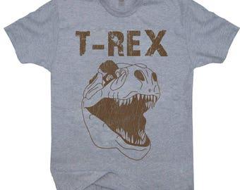 Retro Roaring T-rex T-shirt Vintage T-rex Dinosaur Shirt Tyrannosaurus Rex
