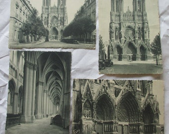 """Lot of Eleven Vintage French Mid 1900's Postcards, signed by """"Guy"""" and """"Frey"""""""