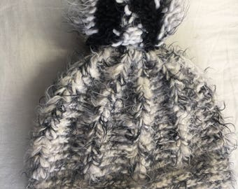 Pretty Knitted Winter Hat