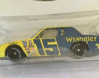 Dale Earnhardt Sr 1996 Wrangler #15 NASCAR 1/64 diecast by Action Performance, Racing Collectibles of America adult collestible