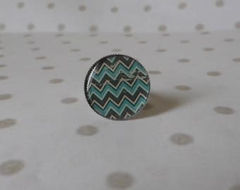 Ring cabochon resin 20mm