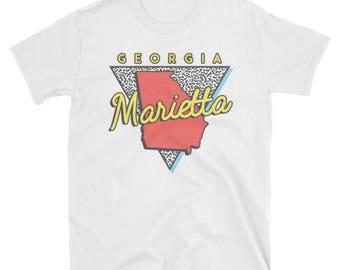 Marietta Georgia T Shirt Vintage GA