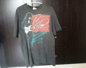 Rare vintage 90's Bonnie Raitt tour t shirt