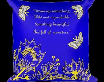 Strange the Dreamer Square Pillow