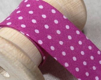 Bias peas - pink ruffles