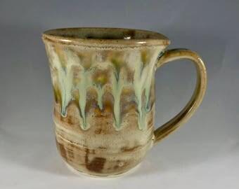 8 oz Handmade Pottery Mug, Clay Mug, Stoneware Mug, Handmade Mug, Pottery Coffee Mug, Handmade Coffee Mug, Coffee Cup, Stoneware Coffee Cup