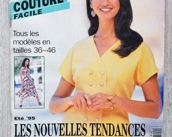 Magazine Burda easy sewing 2/1995 - summer 95